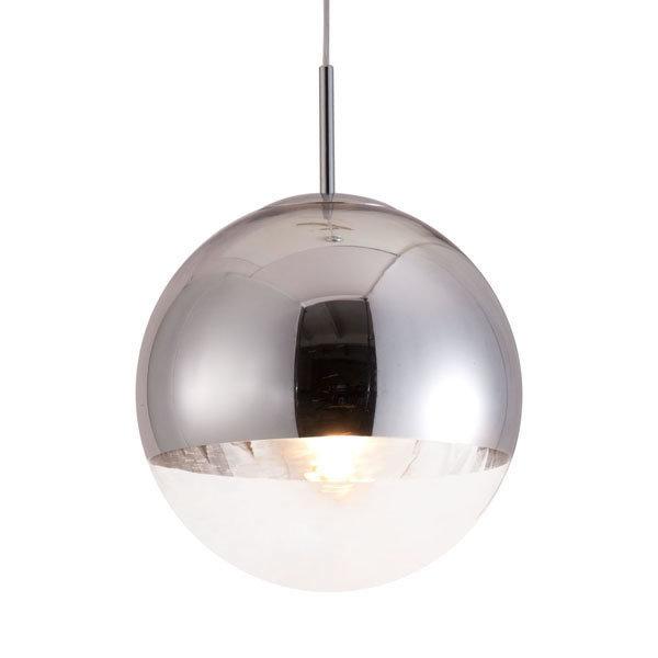 Kinetic Modern Retro Chrome Ceiling Pendant Lamp