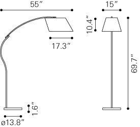Derecho Floor Lamp
