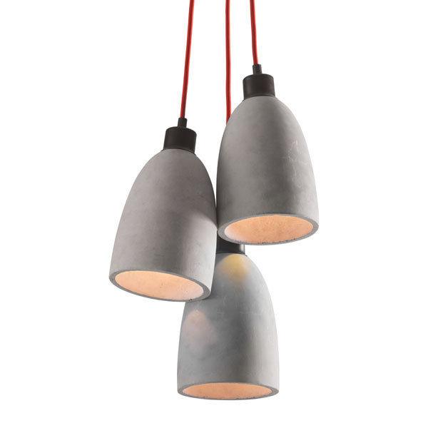 Fancy Industrial Modern Concrete Ceiling Lamp 50206-EB