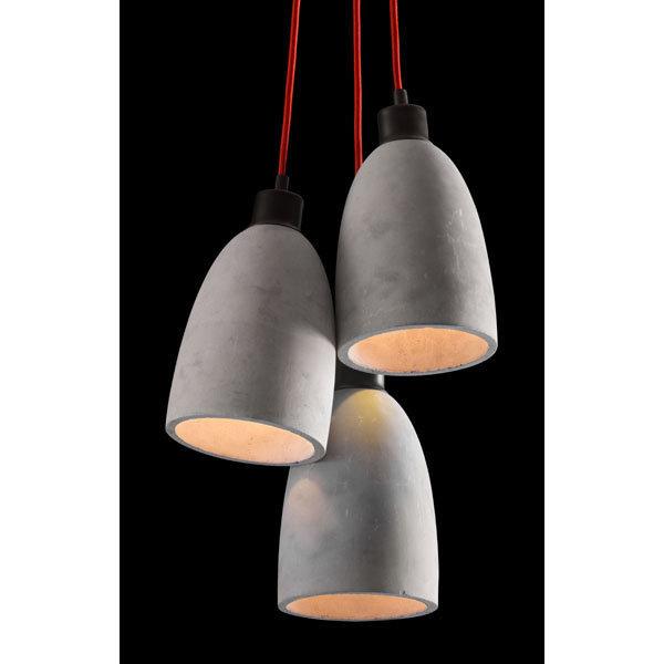 Fancy Industrial Modern Concrete Ceiling Lamp