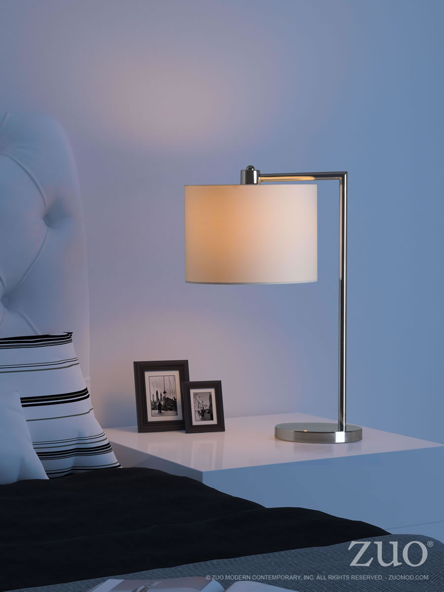 Race Modern Industrial Table Lamp