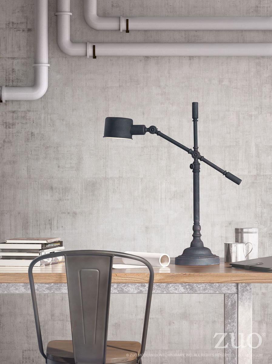 Turn Industrial style Modern Table Lamp