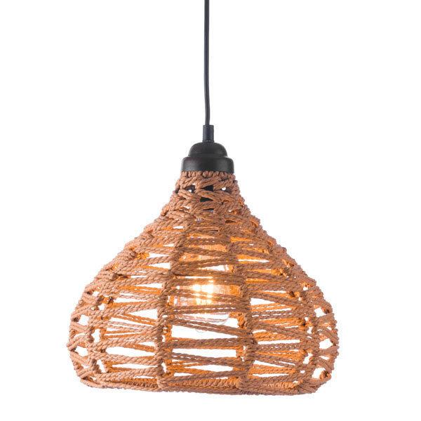 Nezz Modern Ceiling Pendant Lamp Natural 56016-EB