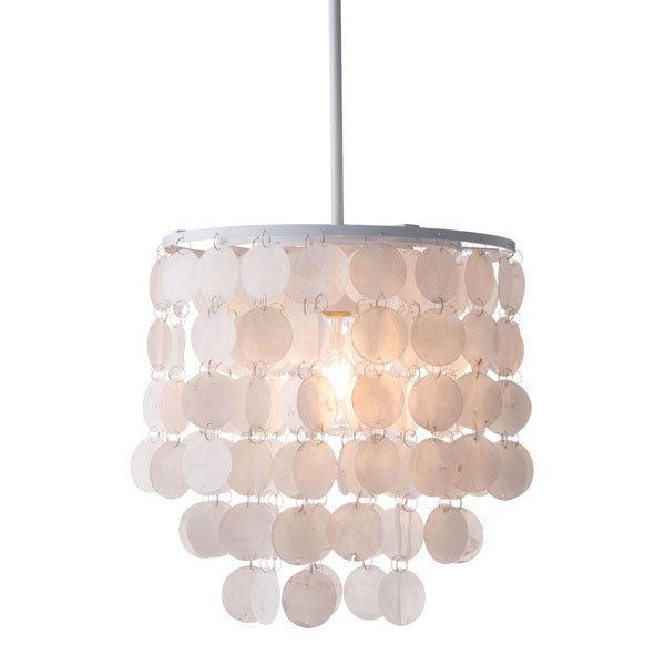 Shell Ceiling Lamp White 56021