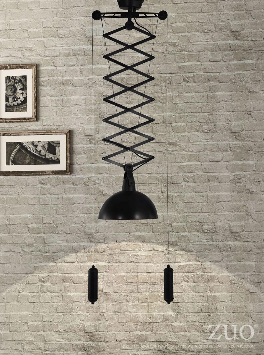 Emerald Ceiling  Lamp