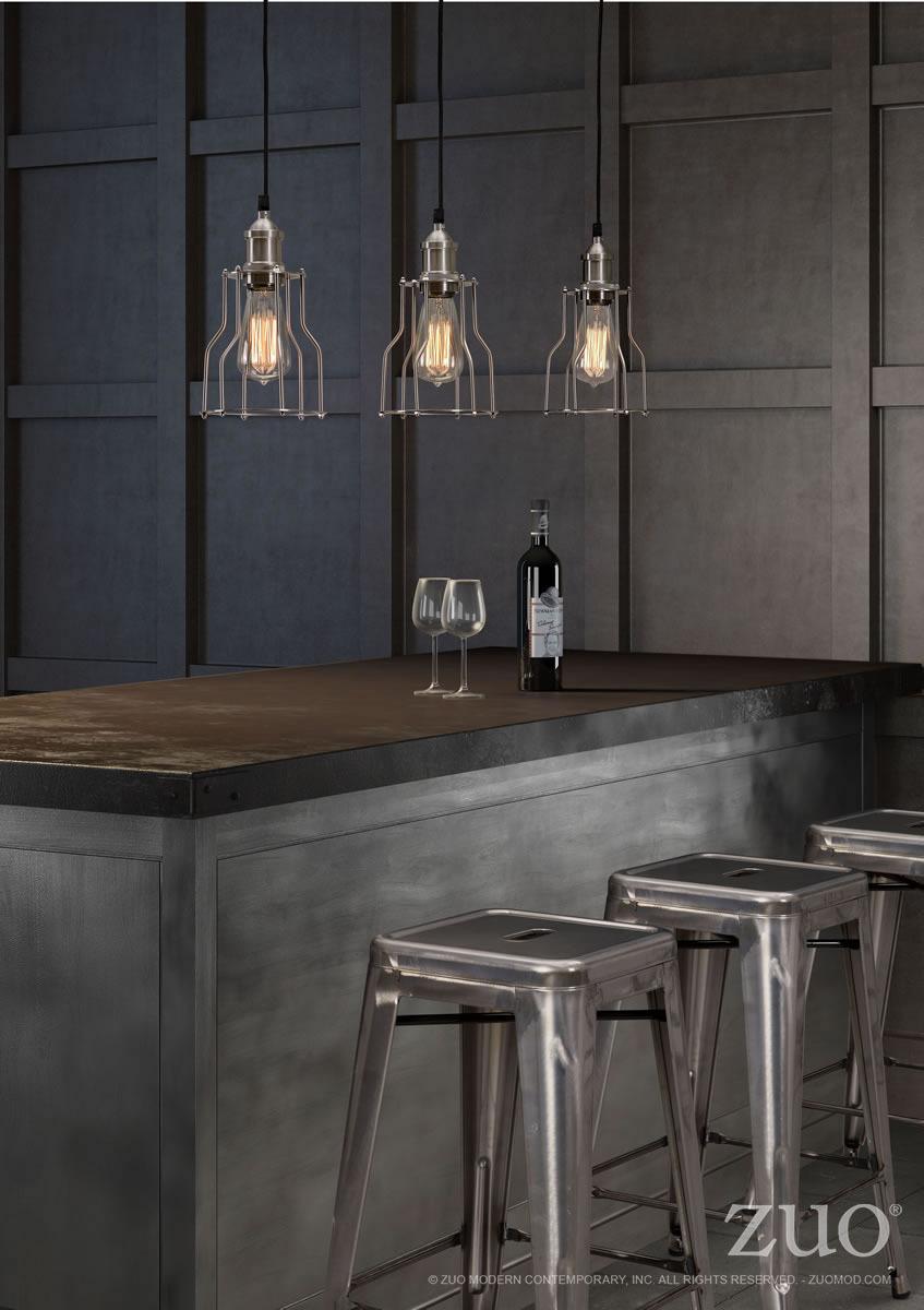 Adamite Industrial Ceiling Lamp