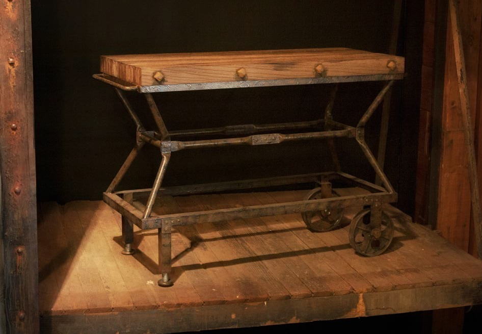 Cardiff Cart Console table