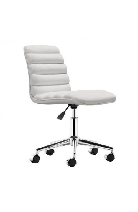 Admire Modern Office Chair White 205711-EB