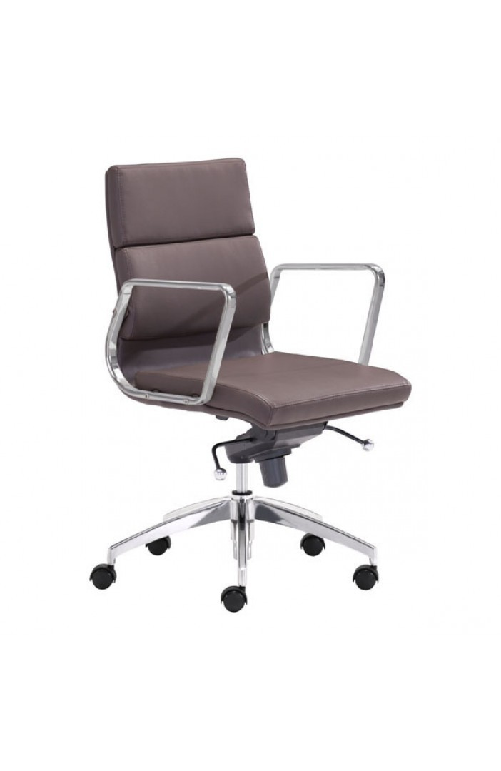 Engineer Low Back Office Chair Espresso 205897-EB