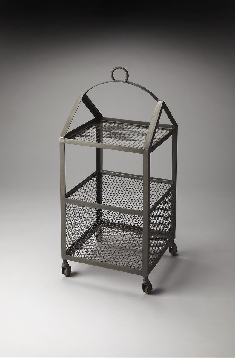 Going Up Industrial Accent Side Table