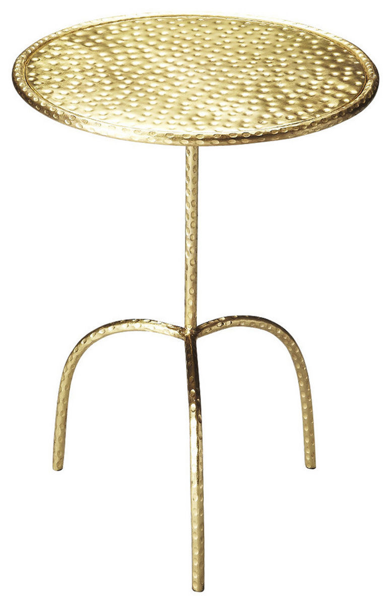 Founders Brass Pedastal Table 3324025