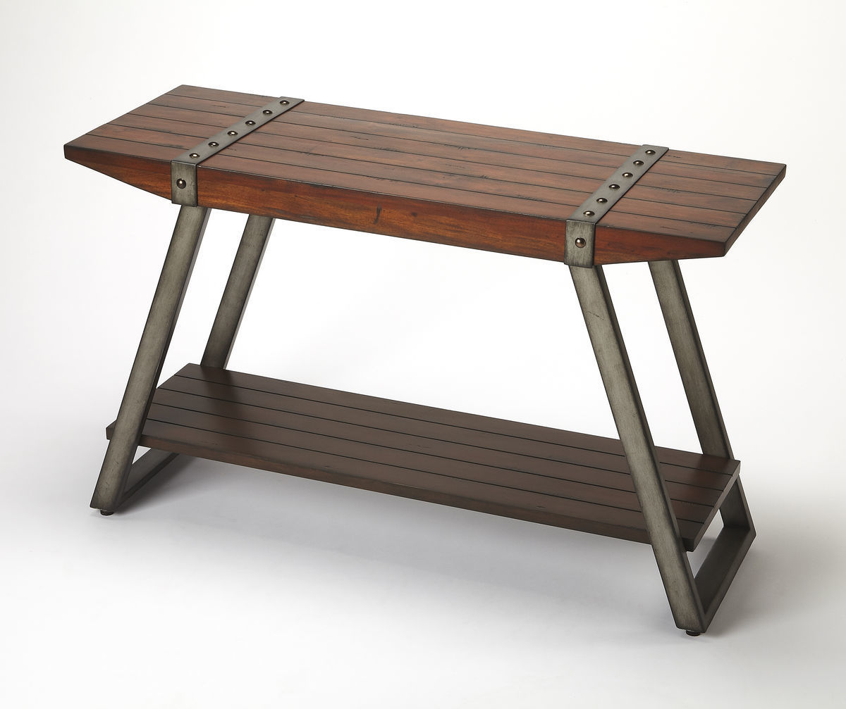Lamont Industrial Console Table 3856330