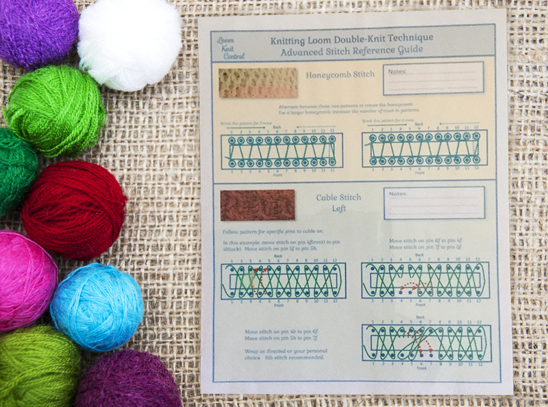 Advanced Loom Knit Stitch Reference Guide 00011