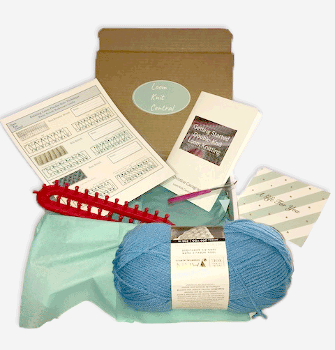 Get Started Loom Knitting Kit 00017