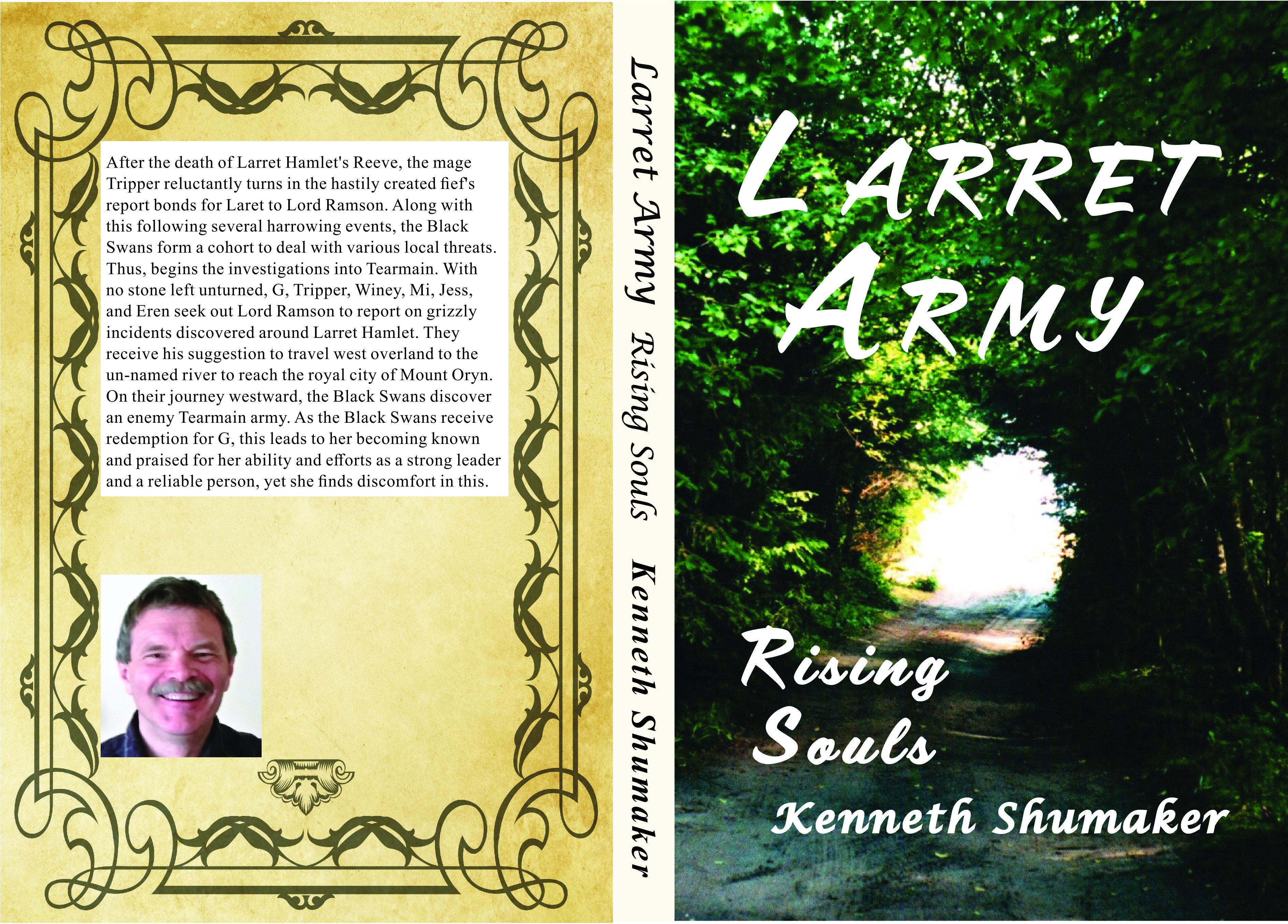 Larret Army: Rising Souls, paperback KS18POPB001