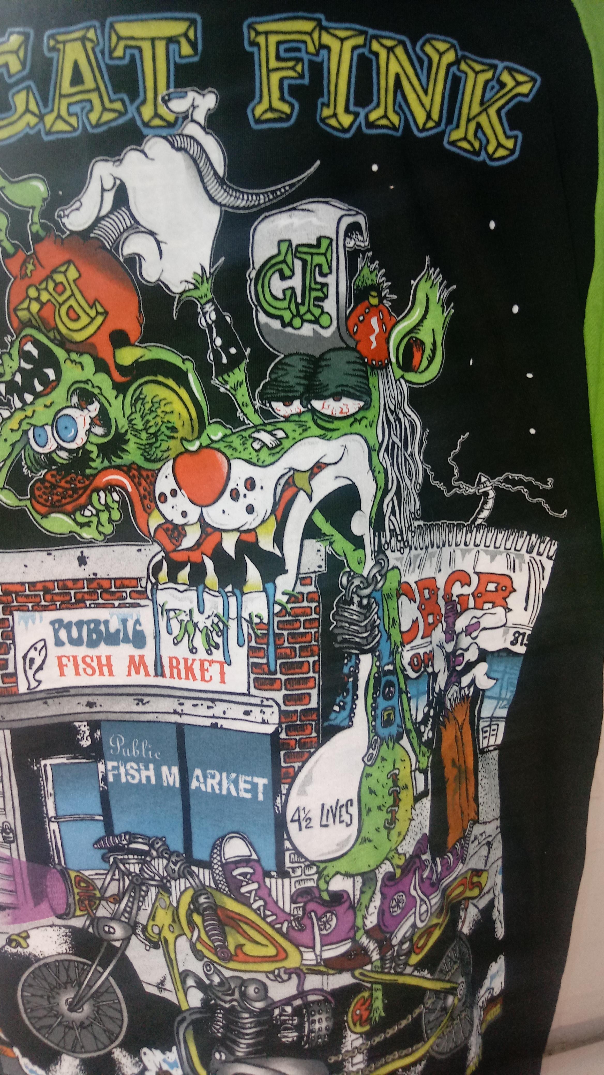 Cat Fink T-Shirt 00058