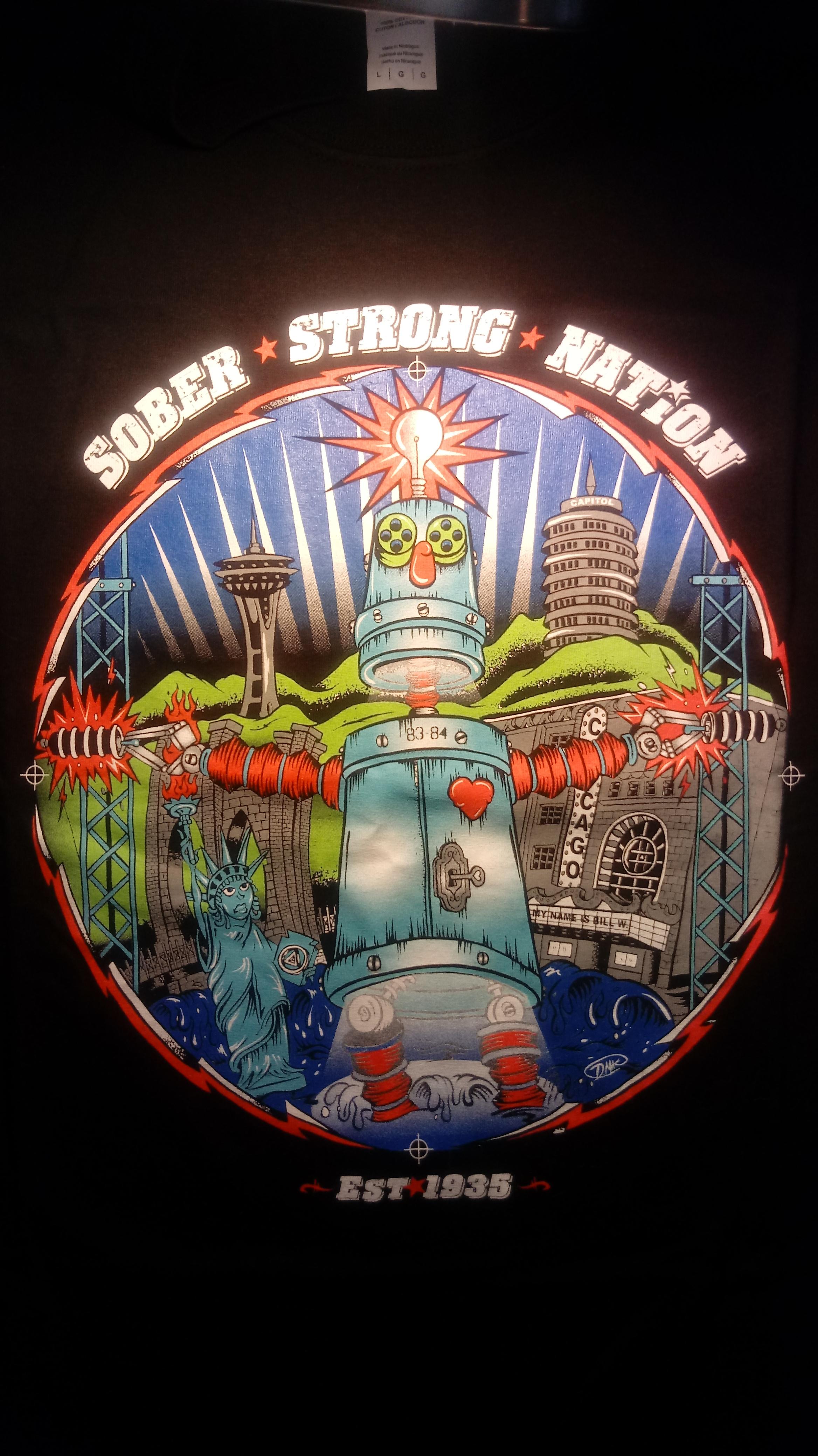 AA World Convention Shirt Atlanta 2015 00070