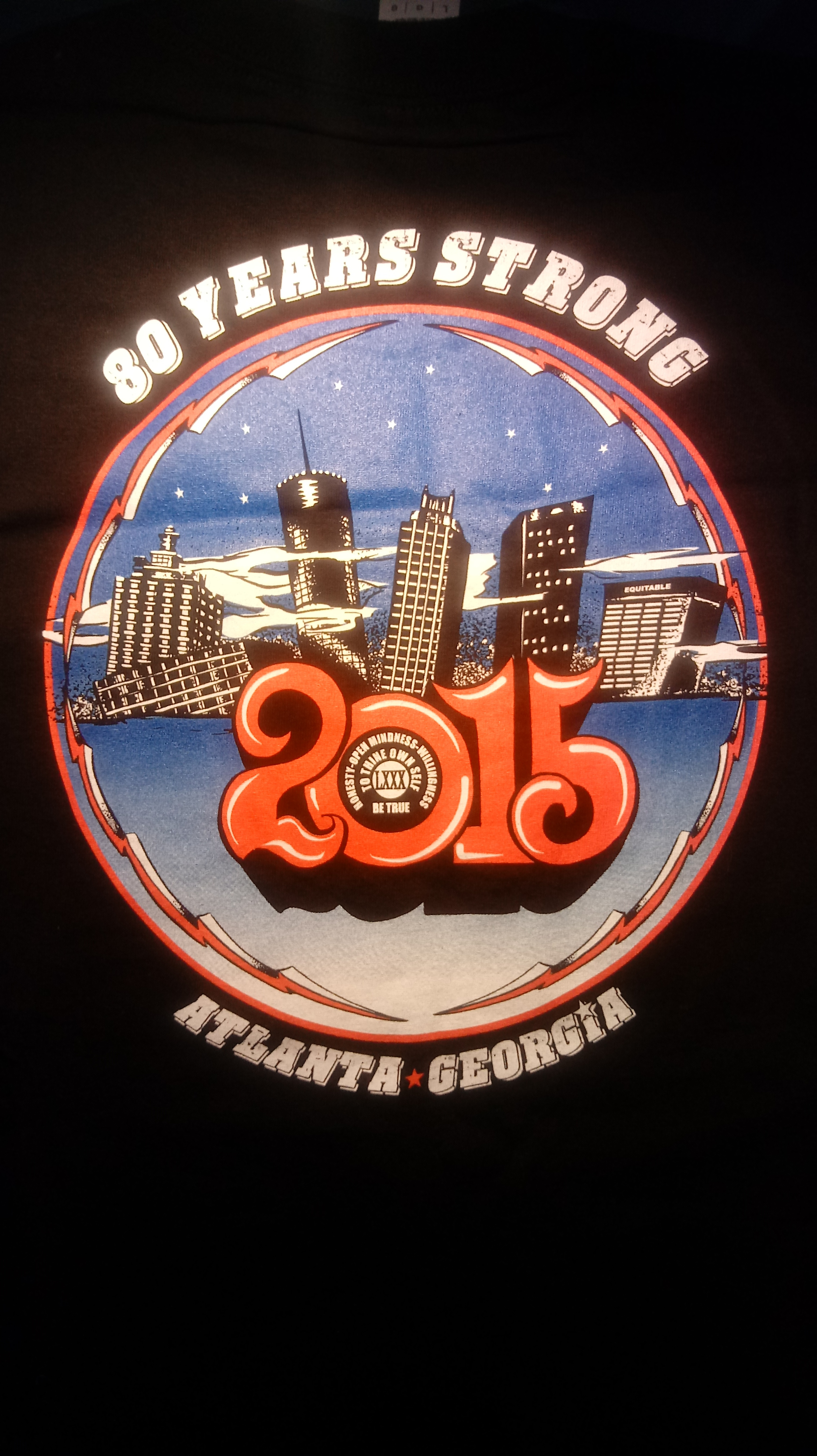AA World Convention Shirt Atlanta 2015