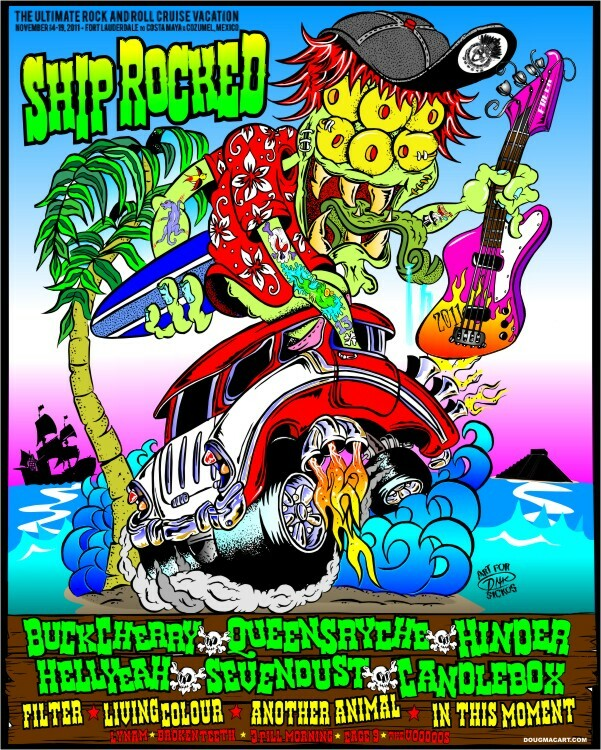 """Shiprocked Poster 14""""x18"""" 00076"""