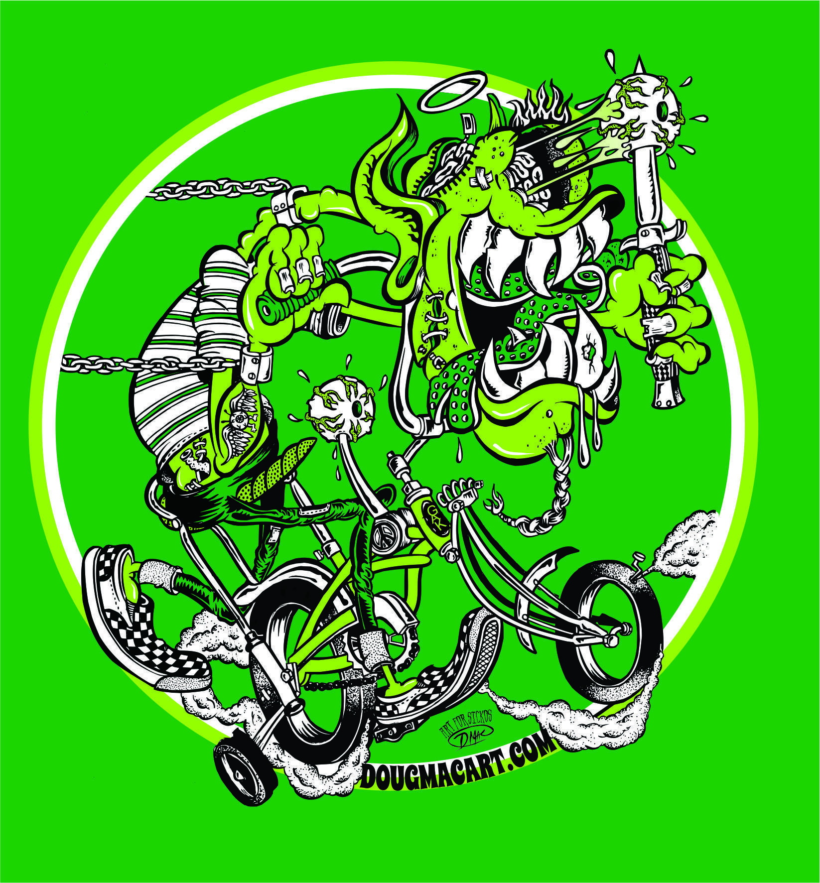 The Green Goblin T-Shirt GIRLS ONLY small med large 00025