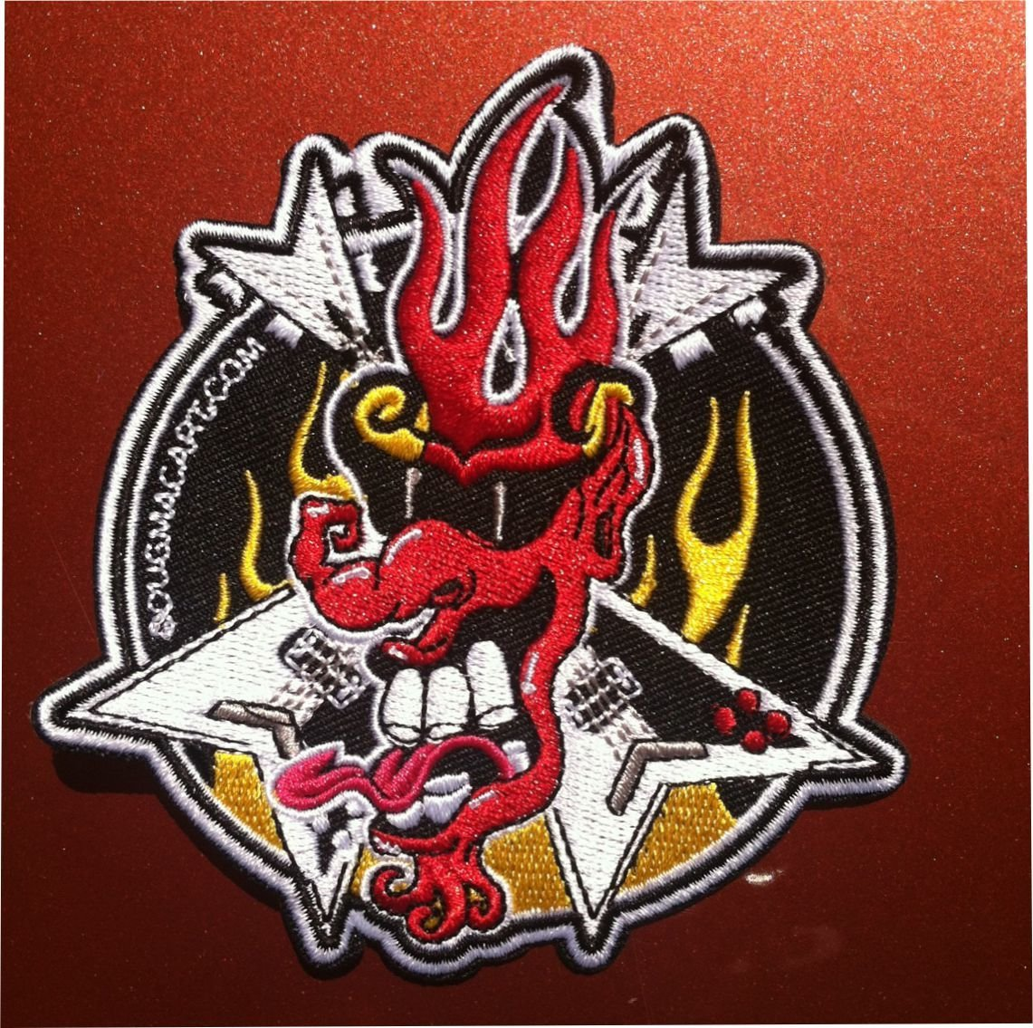 Mr.Flame Iron On Patch 00029