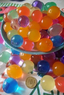 Средние шарики гидрогеля