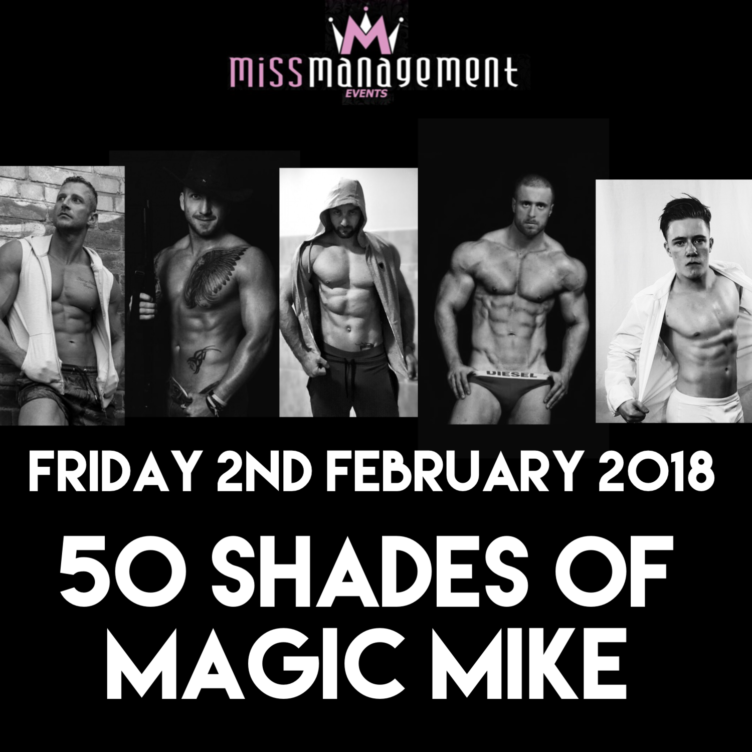 (MM19) '50 Shades of Magic Mike' Rows 1-15