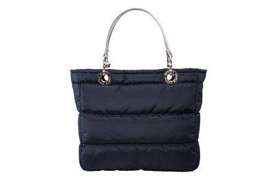 Bolsa Basica Azul Marino con Cierre