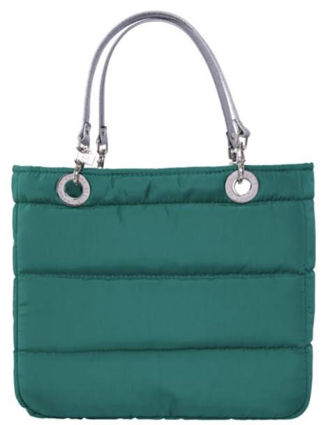 Bolsa Basica Verde Jade con Cierre