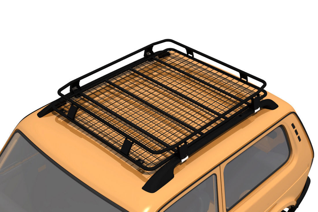 Багажник экспедиционный Lada 4x4 Bronto (на рейлинги)
