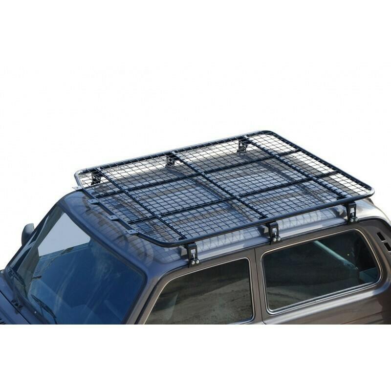 Багажник - платформа экспедиционная «Трофи»  (сетка / алюм. лист) 5 дв Нива