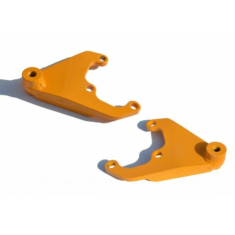 Кронштейны амортизаторов задней подвески (прав. и лев. из Лифт-комплекта арт. 3301) 21214 Нива, URBAN 4x4  и Chevrolet NIVA
