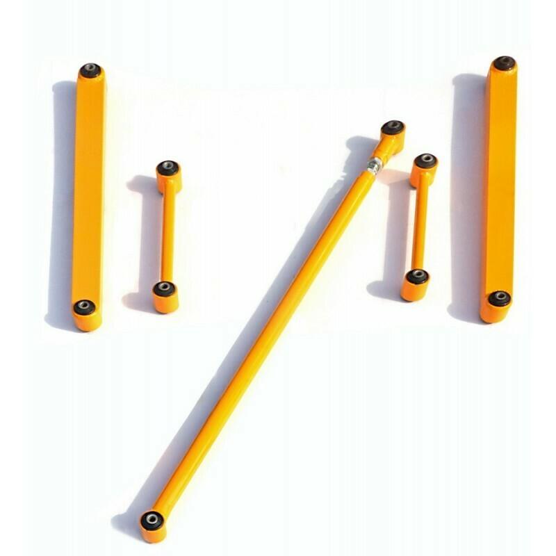 Комплект реактивных штанг (из Лифт-комплекта арт. 3301) 21214 Нива, URBAN 4x4 и Chevrolet NIVA