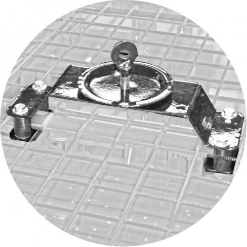 Кронштейн крепления запасного колеса на крышу