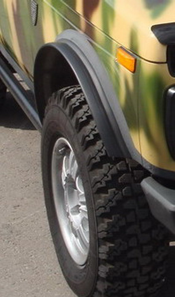 пластиковые накладки на колесные арки на ниву нужен вариант, когда