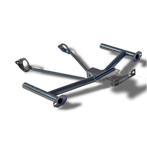 Кронштейн передний, усиленный в комплекте с площадкой под лебедку 21214-2131 Нива