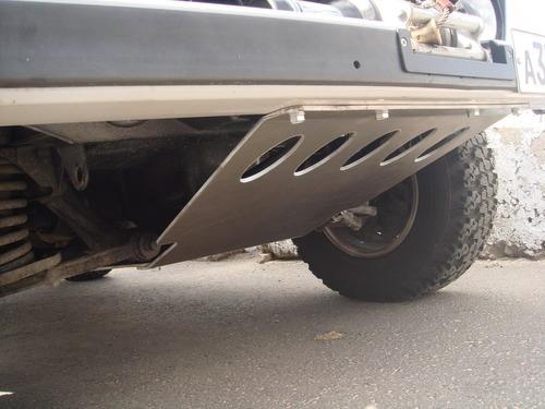 Защита картера двигателя (дюралюминиевая, толщиной 5 мм)