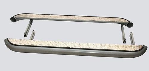 Пороги с алюминиевым листом, Диаметр трубы=63,5мм.
