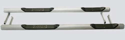 Пороги «Труба с проступью» с металлической заглушкой, 2131 (к-т)