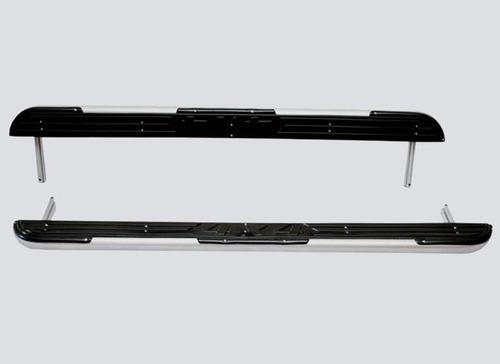 Пороги с пластиковой накладкой, 2131 (к-т)