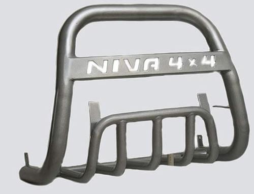 Дуга передняя с защитой «Нива 4х4» Диаметр трубы 63.5мм