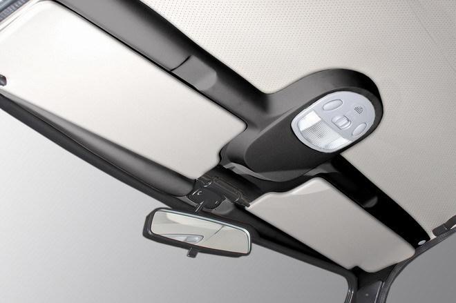 Светильник-Накладка потолка (черн/беж) с симпатичным плафончиком (трамвозащита)