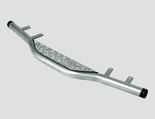 Защита заднего бампера с алюминиевым листом, 2123 «Шеви»
