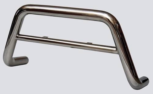 Защита переда «Низкая» (Ø=63,5 мм), 2123 «Шеви» (нержавеющая сталь) RS
