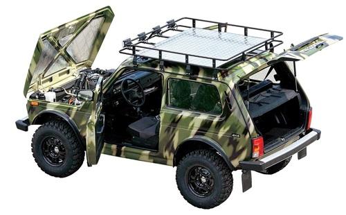 Экспедиционный багажник «Бронто» (2121-21214М)