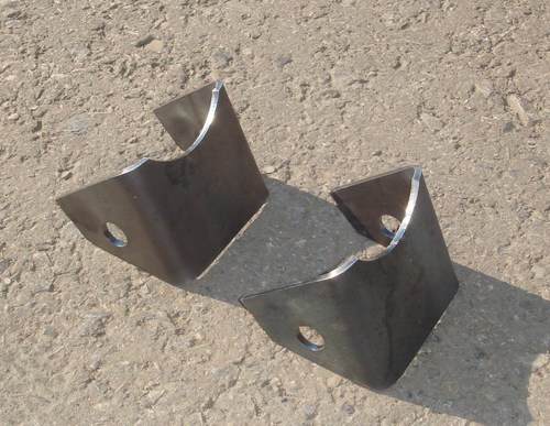 Кронштейн крепления заднего аммортизатора для а/м до 08-2009г.(к-т)