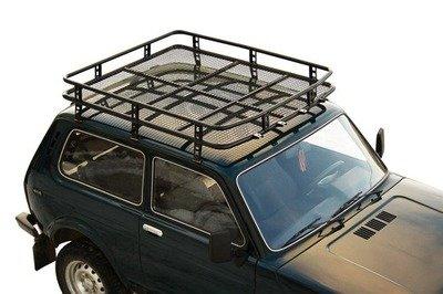 Багажник экспедиционный «Трофи»  с сеткой удлиненный  2131