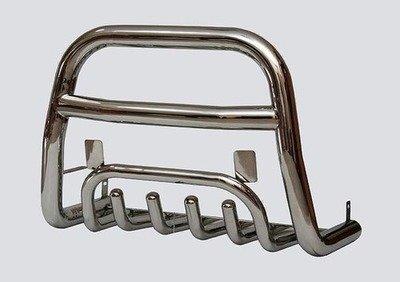Дуга передняя с защитой (нержавейка), Диаметр трубы 63,5мм