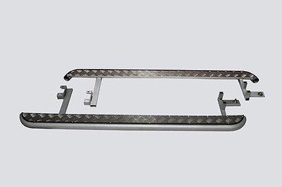 Пороги с алюминиевым листом, 2123 «Шеви»