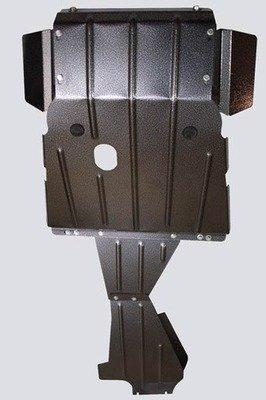 Защита картера двигателя, коробки передач и раздаточной коробки усиленная «Броня», 2123 Шеви-Нива